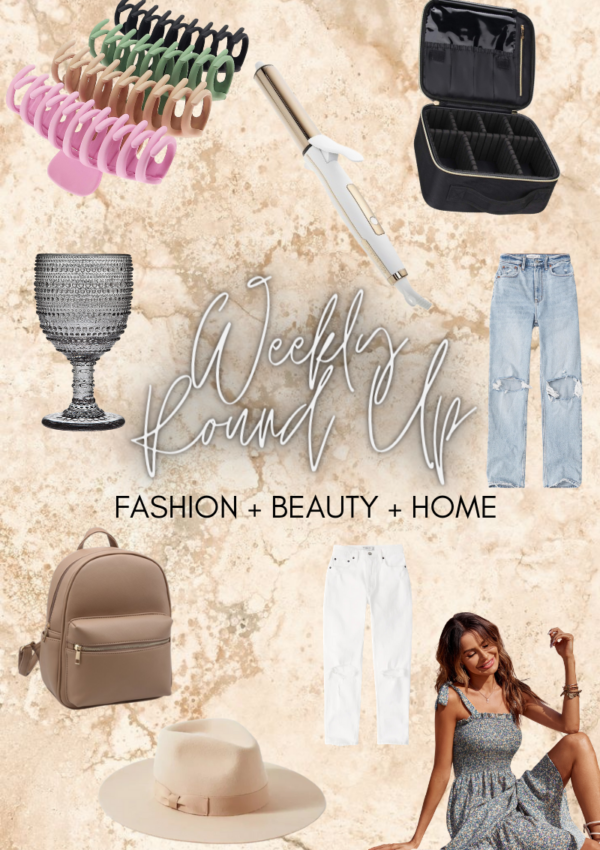 Weekly Beauty and Fashion Round Up Part 3