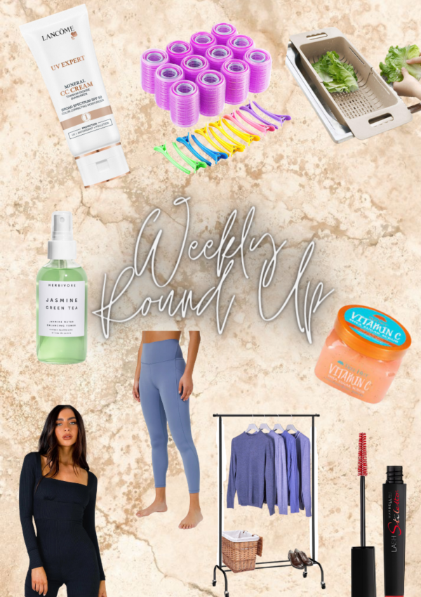 Weekly Beauty and Fashion Round Up Part 2